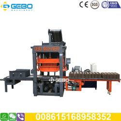 Qt3-20 ciment hydraulique automatique Stock Bloc standard de la fabrication de briques creuses de la machine de moulage