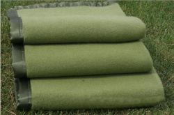 Menor precio térmicos de alta calidad militar del Ejército de socorro de lana suave Manta