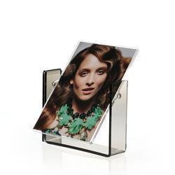 En acrylique transparent Rectangle flottante magnétique des cadres photo pour l'affichage