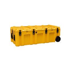 Refroidisseur de boîte à outils de stockage de Millitary avec des roues