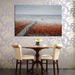 Ponte de amor casa moderna pintura a óleo decorativas