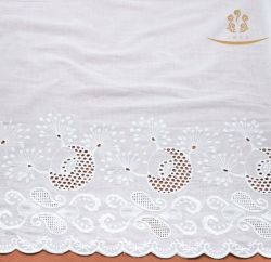 H10015 новый дизайн 100% хлопок кружевной ткани