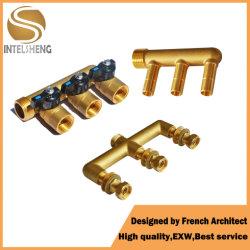 3 、 4 、 5 、 6 、 7 、 8 ウェイフロアヒーティングシステム床下からの暖房用配管 Pex パイプ黄銅マニホールド