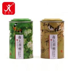 Lo stagno impaccante del regalo di modo inscatola le casse chiuse ermeticamente dello stagno di grande del tè di stile della Cina dello zucchero di uccello delle caselle memoria sveglia della cucina