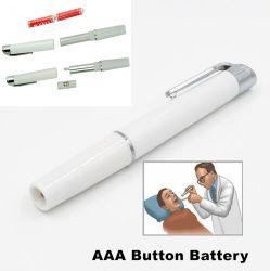 Toorts van Penlight van het Flitslicht van de Arts van de Verpleegster van de Zak van de klem AAA/Button de Batterij In werking gestelde
