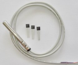Buen precio Maxim Original-92 DS18B20 IC Metálica un Cable Digital Cable Sensor de temperatura con la especificación de tamaño personalizado