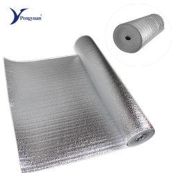 Feuille d'aluminium fait face à 3mm de mousse EPE pour l'isolation thermique