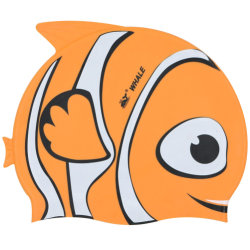 Forme de poissons colorés chapeaux de piscine pour enfants