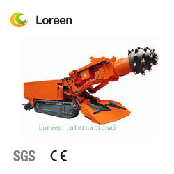 Loreen Ebz160 Roadheader para a mina de carvão em exploração utilizar a rubrica a máquina