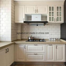 家具のシェーカーの米国式のメラミンボード木PVCキャビネットドアの食器棚