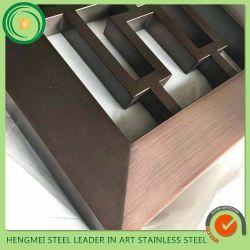 304 Produits en acier inoxydable avec flexion et de la soudure pour la décoration
