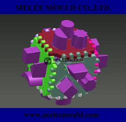 O plástico do molde de brinquedos para crianças desenho design 3D