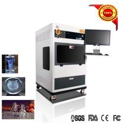 machine à gravure laser 3D pour le verre et de Cristal cadeaux de Noël