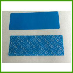 Segurança Anti-Counterfeit etiqueta impressa por via electrónica