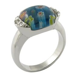 Mode bijoux Pierre Semi-Precious 925 Sterling Silver Ring Commerce de gros