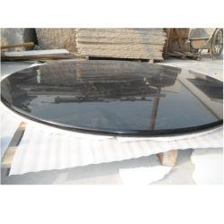 سطح طاولة من الجرانيت الأسود الطبيعي للطاولة