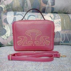 Cuerpo de la cruz de Viajes Personalizada bolsa de cosméticos señoras Fancy Tema Guangzhou mercado PU Eslinga de cuero Bolsos (20250)