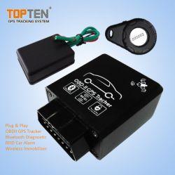 OBD GPS Tracker أجهزة إنذار السيارة مع Bluetooth، إدارة RFID (TK228-KH)