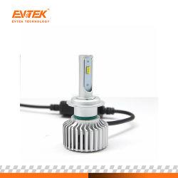 Csp a conduit le témoin Auto Projecteur à LED T5 60W 3 LED de couleur la tête de lampe H7 Kit de phares de voiture