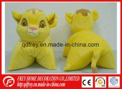 Soft presente de promoção do tigre de pelúcia Almofada de brinquedos