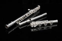 Beginner Middle Class goede nikkel Silver Flute B voet handgemaakt Fabrikant