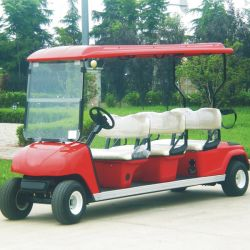 Golf Course (DG-C6)のためのセリウムApprove 6 Seats Electric Club Car
