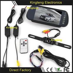 Comercio al por mayor 2.4G Wireless copia de seguridad de las cámaras, monitores y Kit de Sensor de estacionamiento para autos