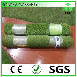 Het natuurlijke Groene Synthetische Kunstmatige Gras van de Voetbal voor de Decoratie van de Tuin