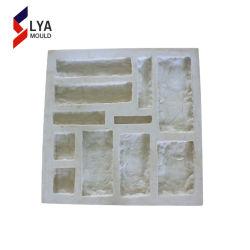 La culture en caoutchouc de silicone mur en pierre artificielle de placage Rock moule en silicium
