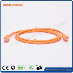 Cu del cavo di zona del gatto 5e di UTP o cavo di zona materiale della rete del CCA