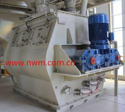 4M3 del eje de doble paleta mezcladora para mortero seco de la planta de mezcla