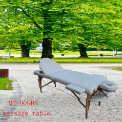 조정가능한 백레스트 및 가득 차있는 부속품을%s 가진 Portalbe 안마 테이블