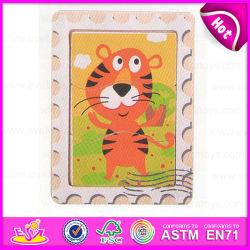 2015 Kinder Wooden Cube Brain Puzzle Toy, Educational Wooden Toy Puzzle für Children, Intelligent Animal Wooden Puzzles Game W14c200