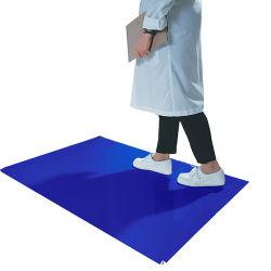 LDPE Einweg Walk-off Labor blau klebrigen Matte