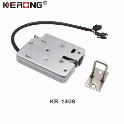 Kerong oculto DC 12V de acero inoxidable sin llave de bloqueo de control eléctrico para el armario de almacenamiento