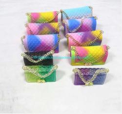 Jelly Purse للفتيات الأطفال، حقائب اليد الصغيرة، حقيبة اليد الخاصة بالترويج للبيع الساخن، سيليكون بوز سلسلة