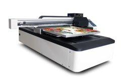 Многофункциональная 6090 планшетный УФ цифровой принтер для печати на бачок/наклейке подарков