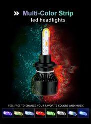 2020 جديدة [2بكسكلورفول] [رغب] [لد] سيارة ضوء [ه4] [ه11] [رغب] مصباح أماميّ عدة [فوغ ليغت] [أبّ] [بلوتووث] تحكّم بصيلة مصباح سيارة شريكات