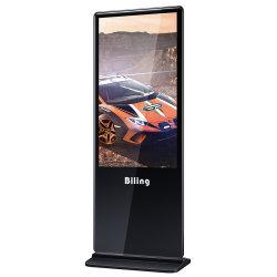 OEM/ODM Wall Video 55-inch Super Slim Floor Standing Kiosk Vervangende LCD TV-scherm LED Reclame voor binnen