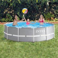 Intex Metallrahmen-Pool-großes aufblasbares im Freienfamilien-Swimmingpool Stent Pool