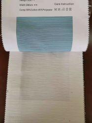 井戸は窓カーテンのための明るいカラーおよび縞デザインの質の織物のような絹をおおう