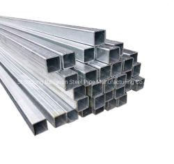 La norma ASTM Q235 T345 SS400 A36 laminadas en caliente cuerpo hueco del tubo de acero cuadrado recto tubo Tubo de acero al carbono soldadas