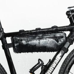 Sacchetto impermeabile di Saddel del blocco per grafici della bicicletta del triangolo del tubo della parte superiore della bici del Amazon