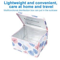 A luz de LED UVC Saco do Higienizador UV Caixa Saco de Esterilização Biberão UVC Esterilizador Saco Caixa Celular desinfecção UV Cleaner
