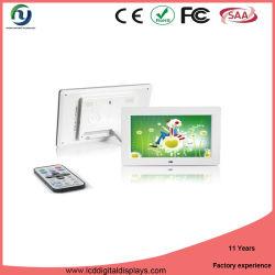 Syton Alta qualidade LCD Mini Sinalização Digital Photo Frame novos modelos (WiFi, bateria, tela de toque para montagem em parede) Media Player