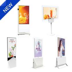 43-inch 55-inch superslank LCD/LED-scherm met dubbelzijdig aanraakscherm Voor reclame-LCD/LED-display