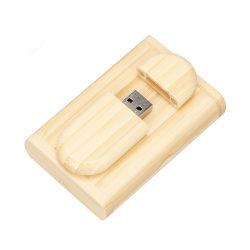 Personnaliser le logo + Boîte en bois Logo personnalisé pendrive 4GB 8Go et 16 Go et 32 Go de disque U Lecteur Flash USB Memory Stick cadeau de mariage