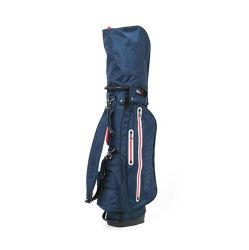 Moda Navy Soporte de poliéster personalizadas bolsas de golf con el logotipo del fabricante