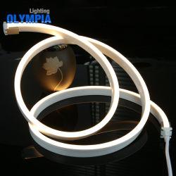 مصباح LED خفيف للحبل مرن بجهد 24 فولت من اللky باللون الأبيض من أجل ديكور خارجى