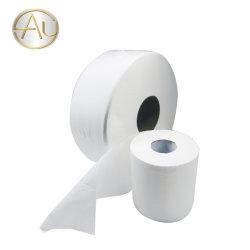 Em stock 100% virgem tecido de bambu 3 camadas de tecido de papel higiénico